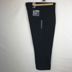 NWT! Dockers Washed Chino Black Pleated Pants